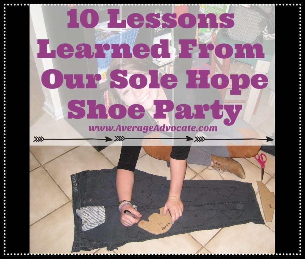 How To Do a Sole Hope Shoe-Cutting Party