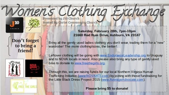 LBD Project Women's Clothing Exchange J10 Church