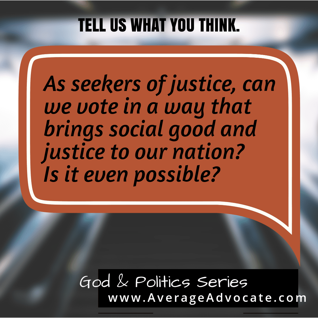 Www.averageadvocate.com god and Politics series to seek justice