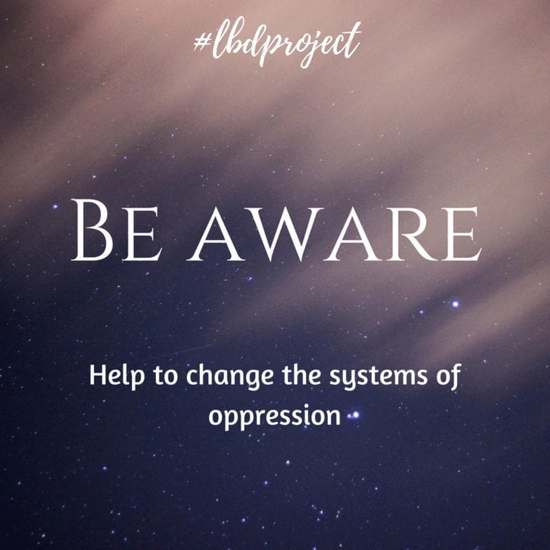 Be Aware Image Quote Lbd.Project by Average Advocate