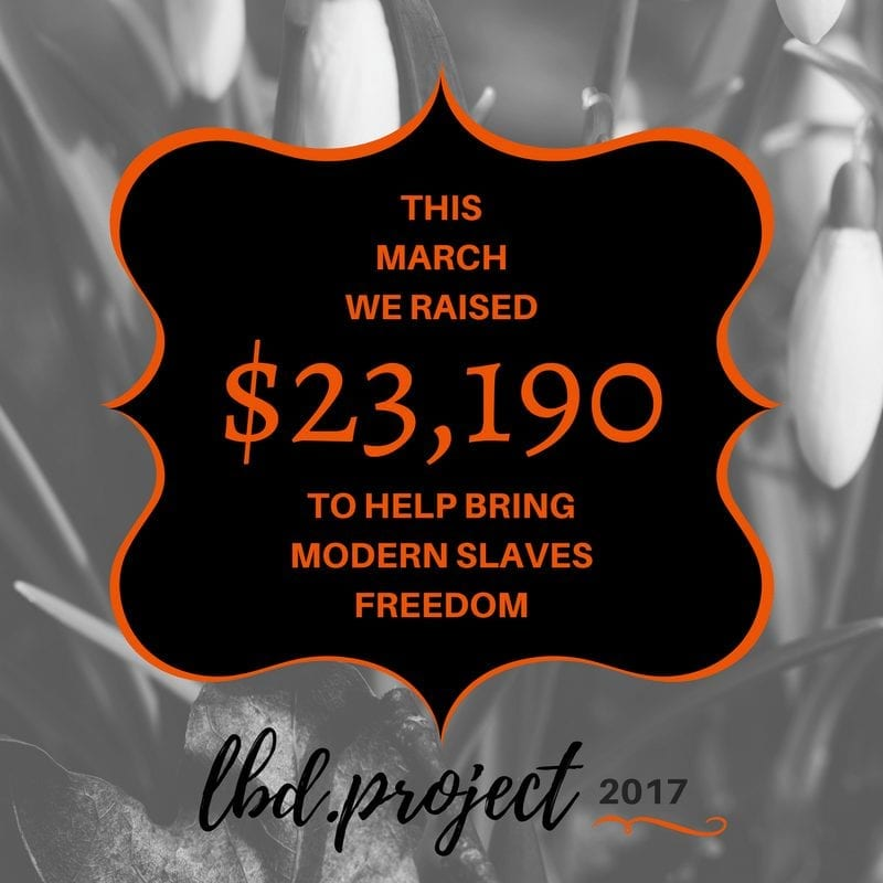 LBD Project freedom for modern slaves