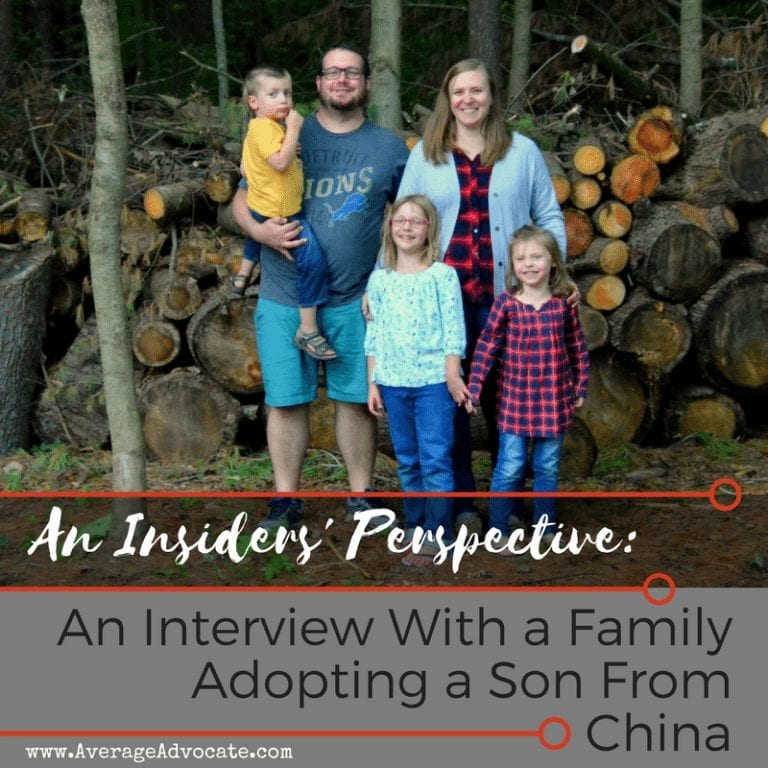 An Insider's Perspective: Interview With a Family Adopting a Son from China