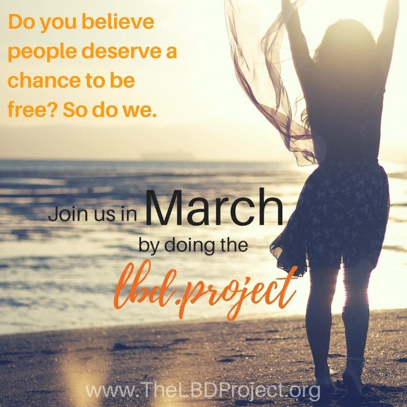 Join the LBD.Project to bring freedom to modern slaves