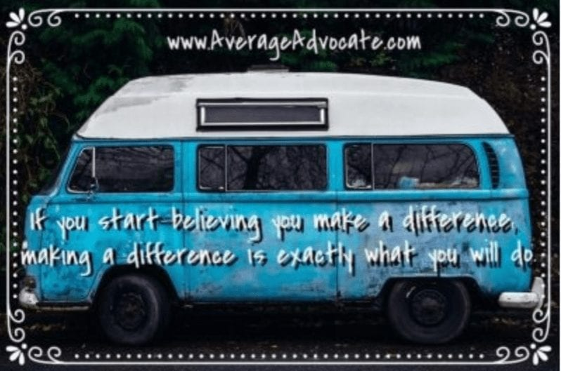Make a difference VW Van