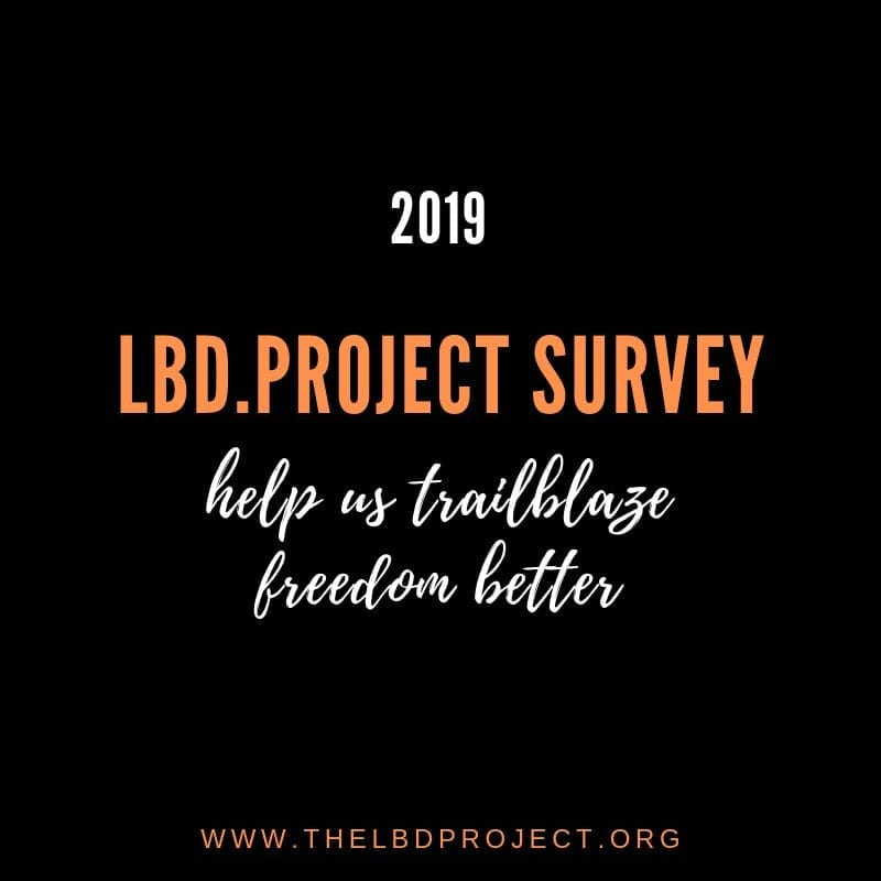 Fill out the LBD.Project survey to bring freedom to human trafficking