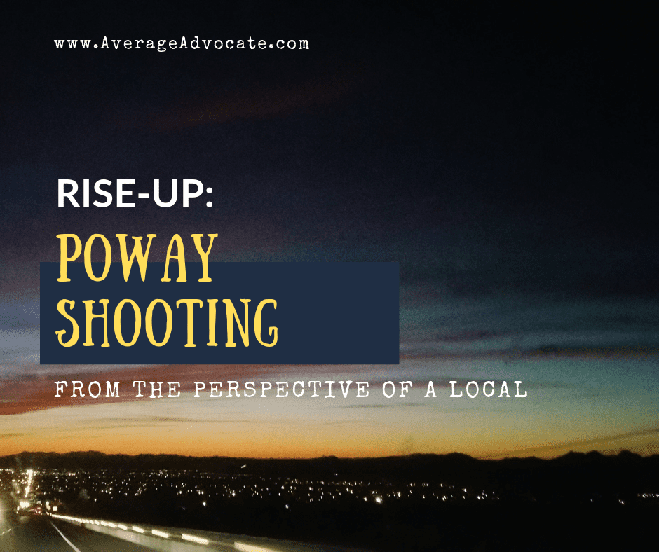 Rise-Up: The Poway Shooting From a Local's Perspective