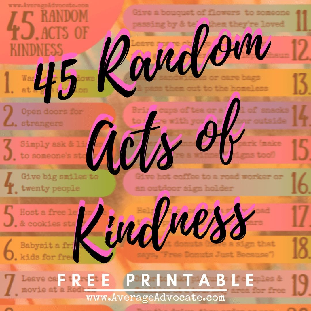 The Seven Things Keeping You From Practicing Random Acts of Kindness