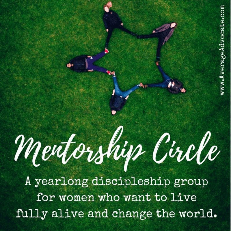 Mentorship Circle Womens Discipleship Group