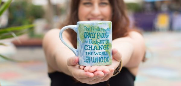Average Advocate Make a difference in the world mug