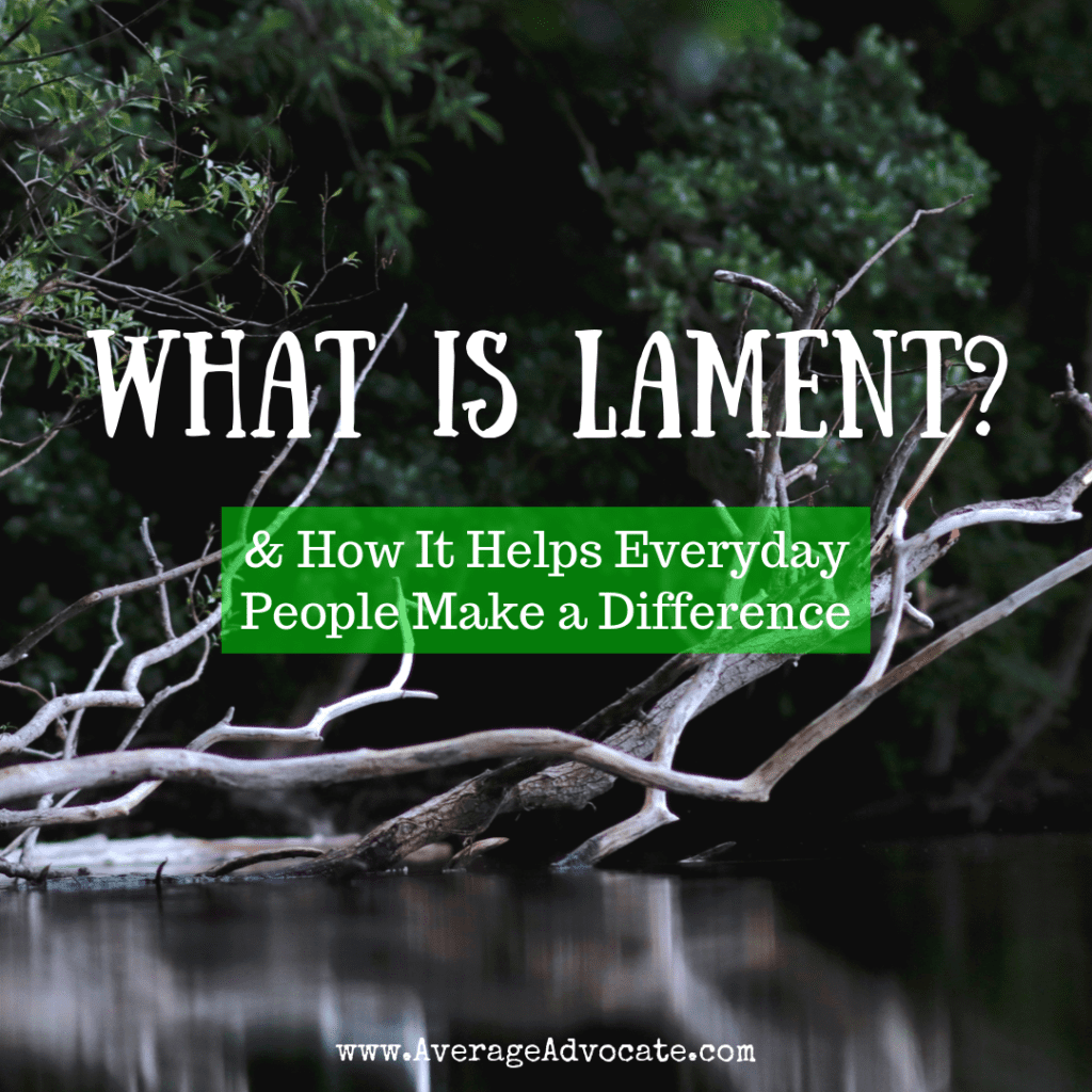 What is Lament and how it helps everyday people make a difference