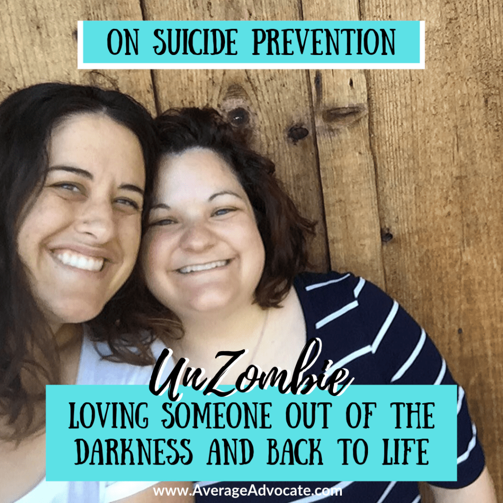 On Suicide Prevention Loving Someone out of the darkness