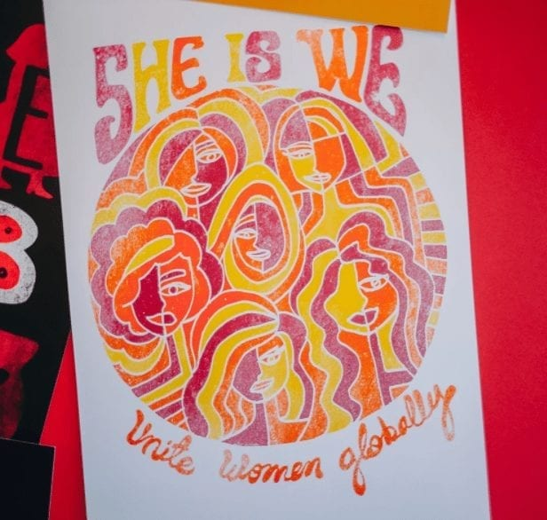 Dazey's women's empowerment posters gifts under $10