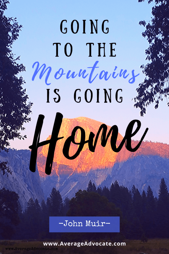 Going to the mountains is going home