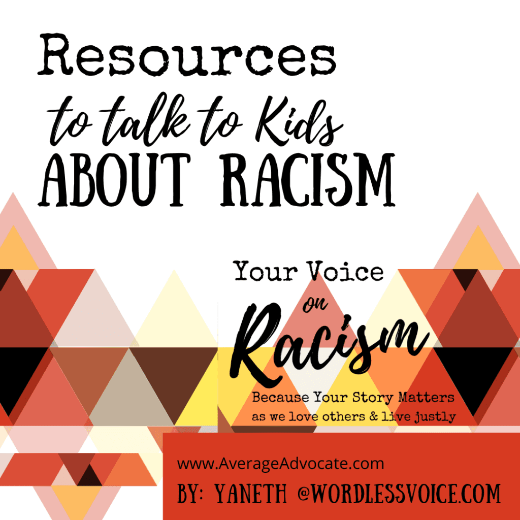 Books for talking to kids about racism