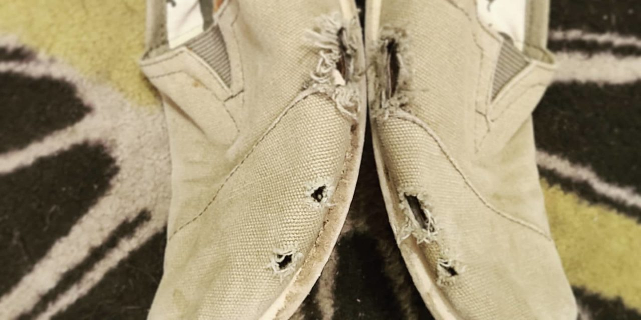 The Old TOMS Shoes