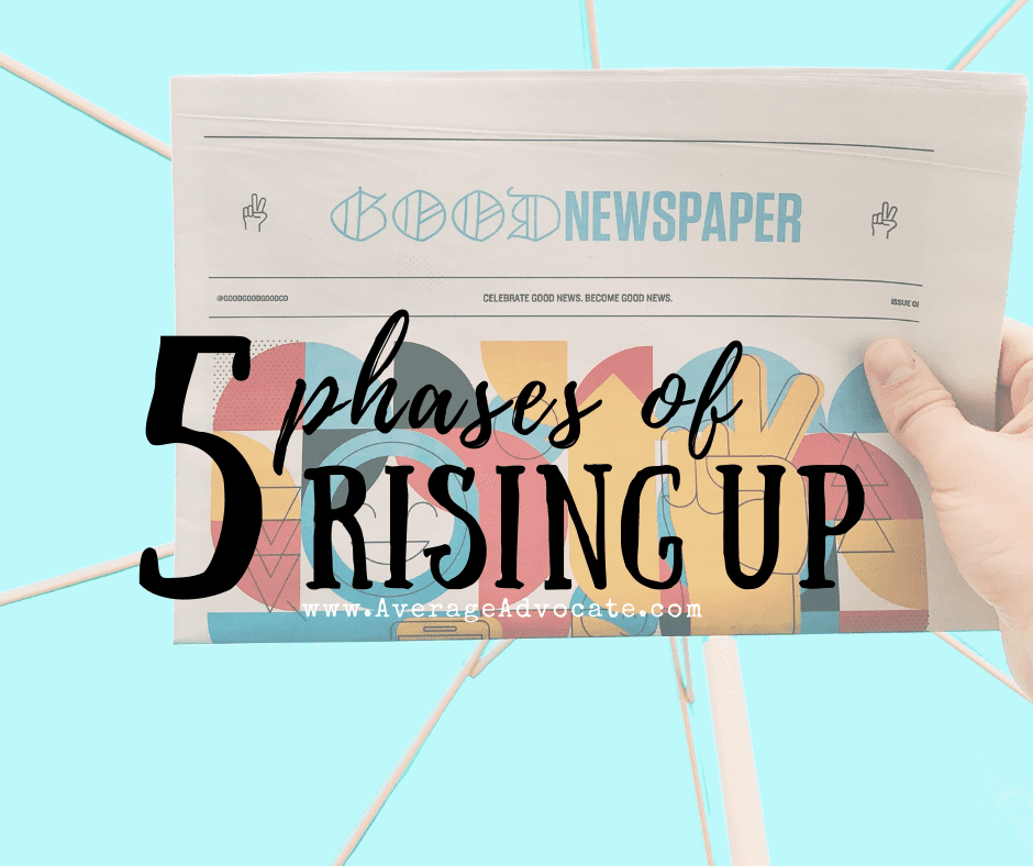 Rise Up Mama Five Phases of Rising Up